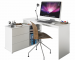 Fehér íróasztal